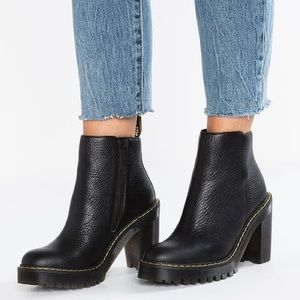 Dr. Marten's Magdalena Aunt Sally boot size 9